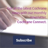 Subscribe to Cochrane Connect