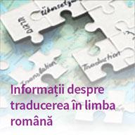 Informații despre traducerea în limba română
