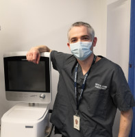 Iain Crossingham, Consultant Intensivist and Respiratory Physician.