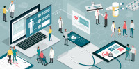 Do patients manage their health care better if they can access their electronic health records?