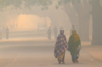 Assessing the effects of interventions on air pollution and health