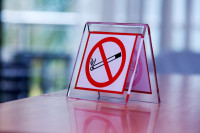 Can people stop smoking by cutting down the amount they smoke first?