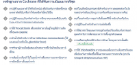 Introducing the Cochrane Thai translation project