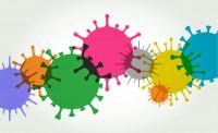 Artist take on Virus Cells