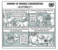 Comic highlights Cochrane and World Health Organization collaboration for positive