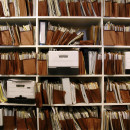 wall of files that is overfull