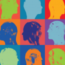Different People, Men and Women, Head profiles pattern