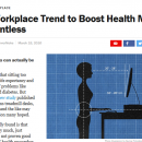 Workplace interventions for reducing sitting at work