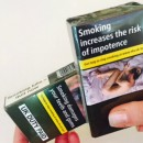 New evidence finds standardized cigarette packaging may reduce the number of people who smoke.