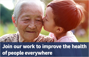Join our work to improve the health of people everywhere