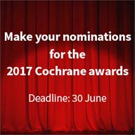 2017 Cochrane awards