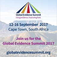 Global Evidence Summit, 12-16 Sep 2017, South Africa