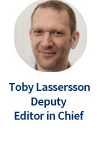 Toby Lasserson, Deputy Editor in Chief