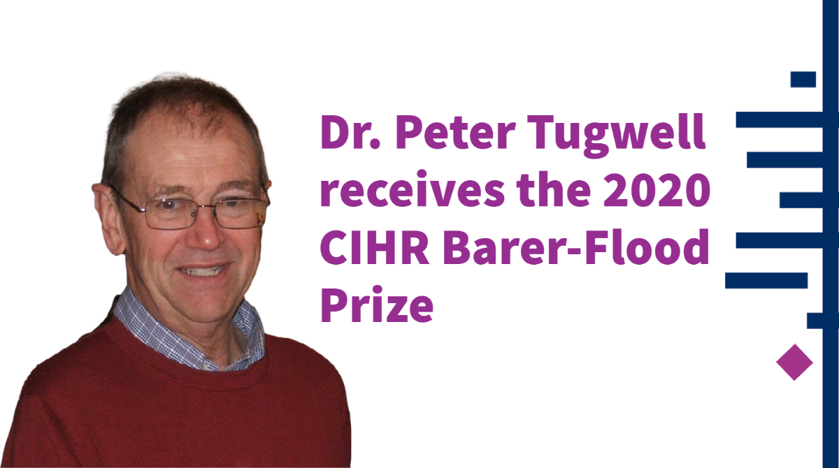 Dr. Peter Tugwell smiling