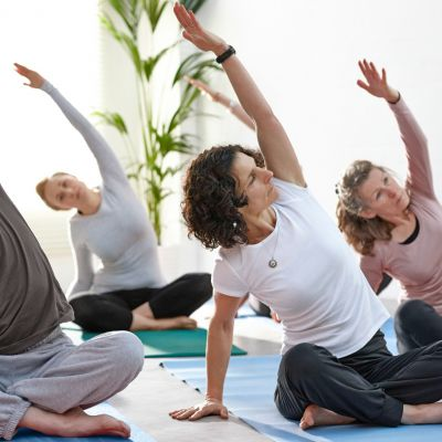 yoga may have health benefits for people with chronic non